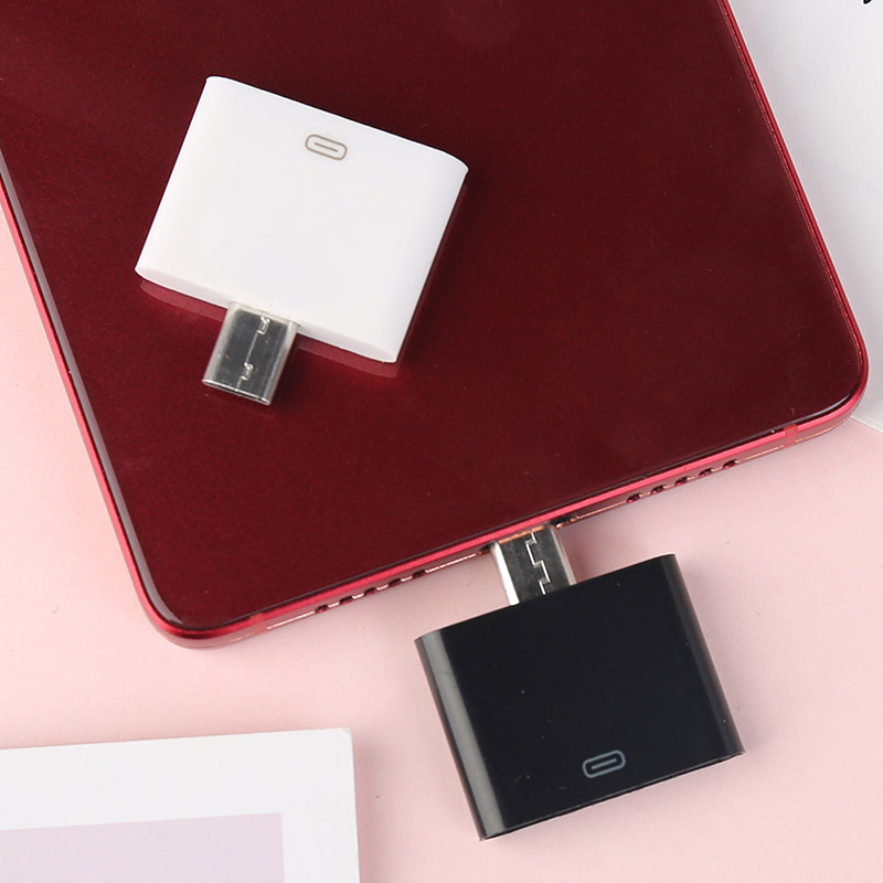 Portable Mobile Phone Adapter Converter Charger Adapter 30 Pin To Micro Adapter For Xiao Mi Hua Wei