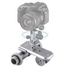 Nova Kingjoy PPL-06 3-Wheel Elétrica Motorizada Trilha Slider Dolly Car Video Polia Rolamento Skater para Canhão Nikon Sony Camera
