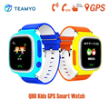 Q90 teamyo 2016 niños gps smart watch reloj con wifi posicionamiento Buscador de Llamada SOS Localizador de Niños Para Niños Contra la Pérdida de Tracker