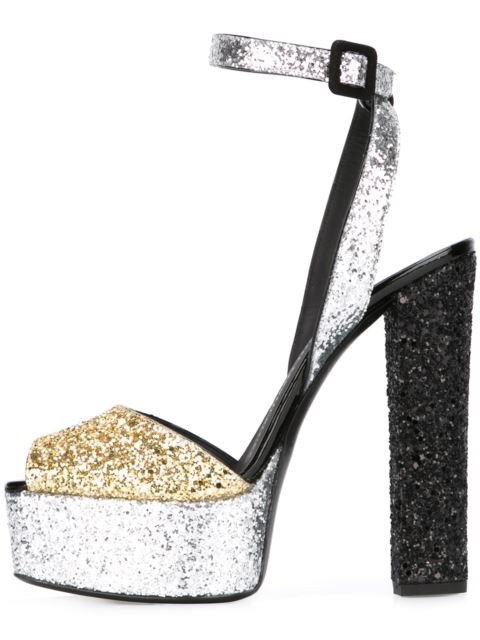 Gullick Hot Selling Fashion Platform Sandals Ankle Strap Bling Bling Glitter Woman Party Dress Shoe Mixed Colors Super High Heel hot selling pleated bling woman sandals fashion high heel slipper open toe slide dress sandals concise comfortable sandals
