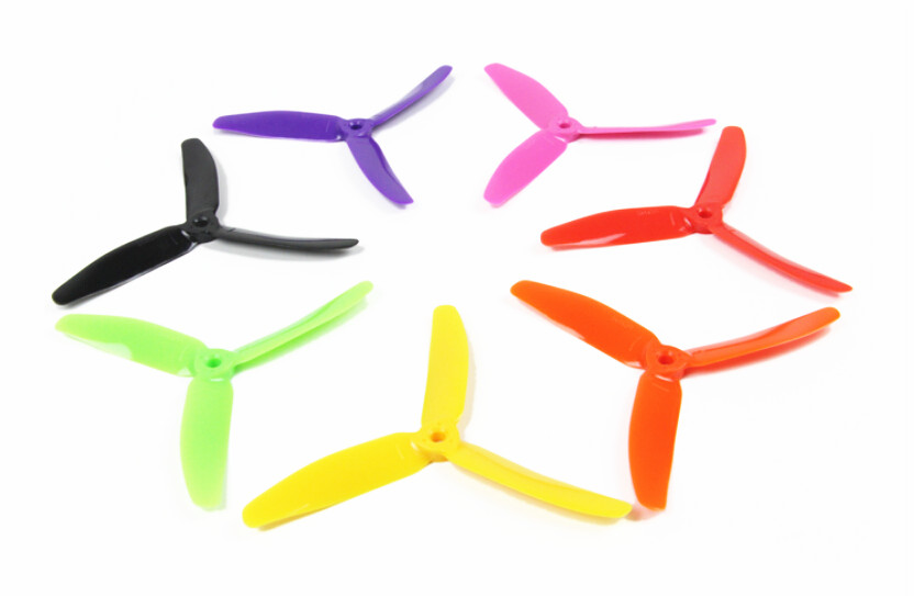 F18478/81 JMT 3-propeller 5X4X3 5*4*3 Plastic Colorful Propellers Spare Parts Accessory for DIY Drone Racer Quadcopter Aircraft
