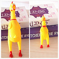 Funny Vent Long Neck Chicken Shrilling Chicken Sound Squeeze Screaming Toy Kids Child Nice Gift