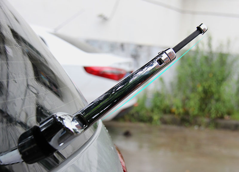 Triple Chrome Rear Window Wiper Cover Trim Windshield Windscreen For Vw Volkswagen Golf 7 Mk7 car rear trunk security shield cargo cover for volkswagen vw golf 7 mk7 2014 2015 2016 2017 high qualit auto accessories