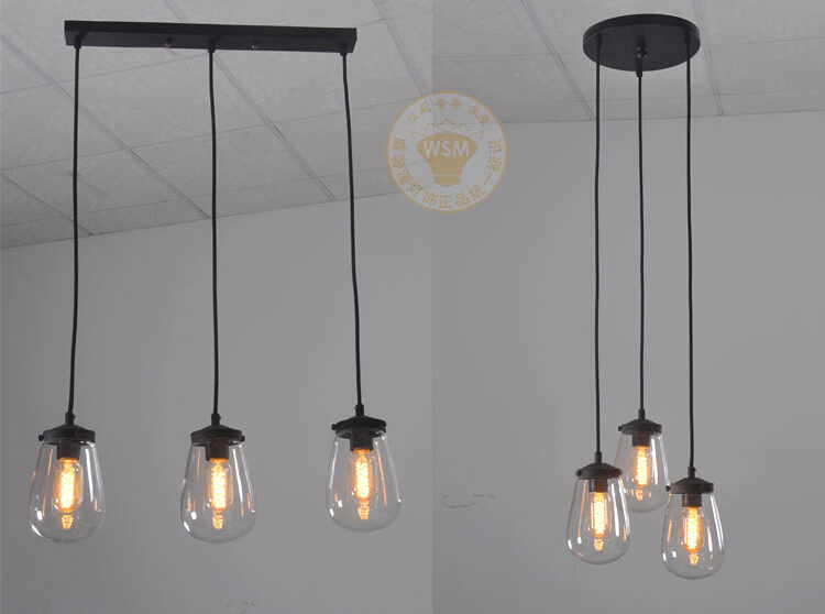 vintage bedroom lighting. American Vintage Style Pendant Lights Glass Lampshade Kitchen Bedroom Light Coffee Bar Lamp Fixtures 110 240V New Year-in From Lighting A