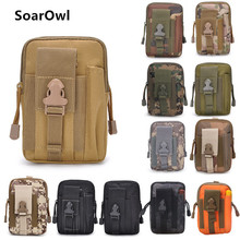 Tactical bag Molle hunting belt pockets military wear-resistant waterproof outdoor small mobile phone pocket