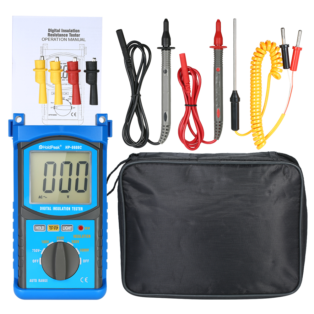LCD Digital Automotive Engine Analyzer Multimeter DC/AC Voltmeter Ammeter Meter Capacitance Resistance Diode Tester цена
