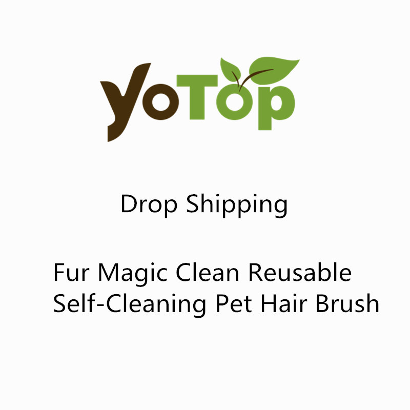 YOTOP Magic Clean Reusable Self-Cleaning Pet Hair Brush Set Double Lint Remover Fur Scrub Clothes Bag Dust Brusher