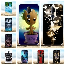 For Alcatel 3V Protective Case Ultra-slim Soft TPU Silicone Cover Cartoon Patterned Bumper Coque