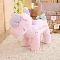 35/45/65 Cm Soft Adorable Unicorn Plush Toy Unicorn Pillow Stuffed Animal Unicorn Pony Plush Toys Brand For Children's Gift