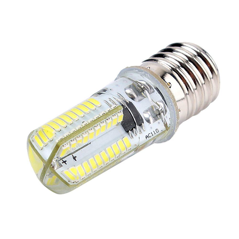 LAIDEYI <font><b>E17</b></font> <font><b>LED</b></font> <font><b>Bulb</b></font> Microwave Oven Light Dimmable AC 110V-130V Watt 5W lamp 3014SMD Appliance Compatible <font><b>Bulbs</b></font> image