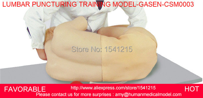 NURSING TRAINING MANIKIN MEDICAL SIMULATION MODELS MEDICAL TRAINING MANIKINS LUMBAR PUNCTURING TRAINING MODEL-GASEN-CSM0003 medical training manikins medical training simulators nursing training manikin knee joint cavity injection model gasen csm0034
