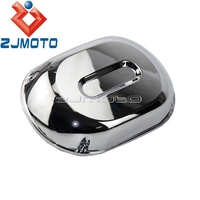 Motorcycle Chrome Plastic Air Filter Cover Cap Air Cleaner Cover For Honda VT750DC Shadow Spirit 2001 2007