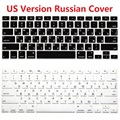 EU Euro US Version RUS Russian Keyboard Cover For Macbook Air Pro Retina 13 15 Silicone Computer Keyboard Protector For iMac