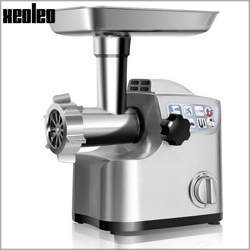 Xeoleo Multifunction Electric Meat Grinder Home use Vegetable Slicer Enema machine Vegetable Shredded machine 800W Sausage fill