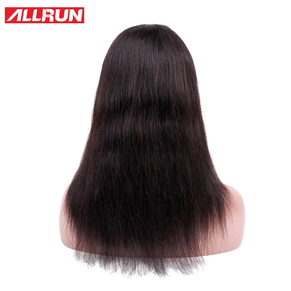 ALLRUN Μαλαισία Σγουρό βαρίδι Περούκες - Ανθρώπινα μαλλιά (για μαύρο) - Φωτογραφία 3