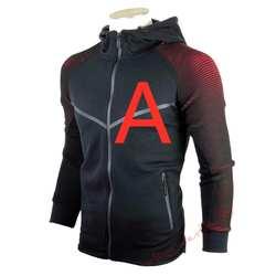 Весной распечатать любой логотип для Для мужчин набор тонкий лоскутное куртка Для мужчин тренировочный костюм из 2 предметов Спортивная