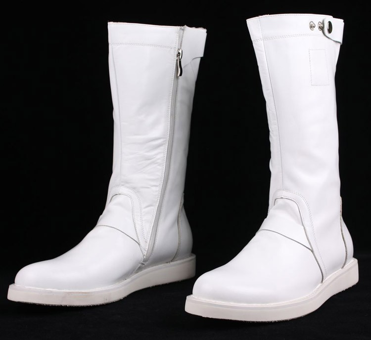 White Boots For Men - Yu Boots