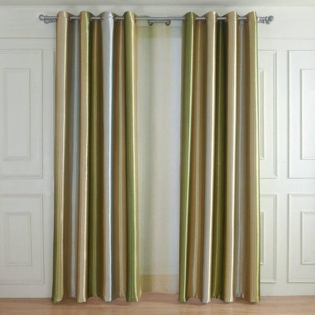 Stile europeo Arcobaleno Tende di Colore per Soggiorno Sala da pranzo Camera Da Letto Tende di Tulle e di Alta Ombreggiatura Tende Complementi Arredo per le finestre