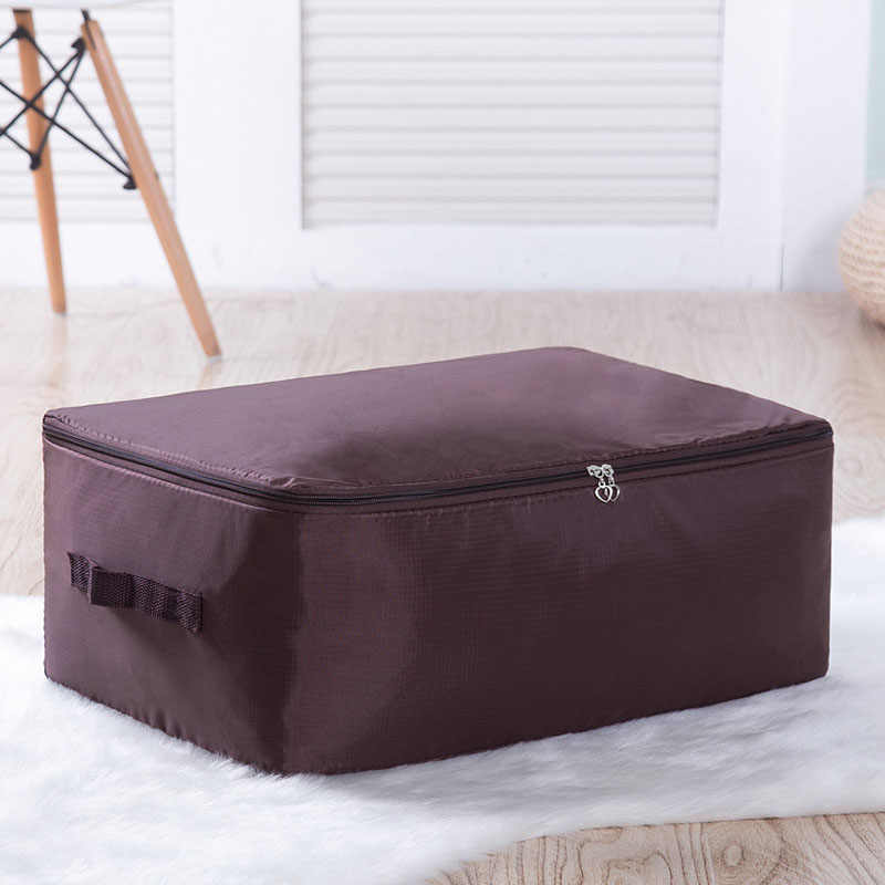 Oxford Fabric Under Bed Storage Bag Closet Organizer Space Saver Bag for Clothing Duvets Bedding Pillow Quilt Dustproof