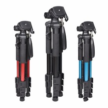 Zomei Q111 55 Inch Lightweight Flexible Portable Camera Tripod Stand with 1 4 Mount 3 Way