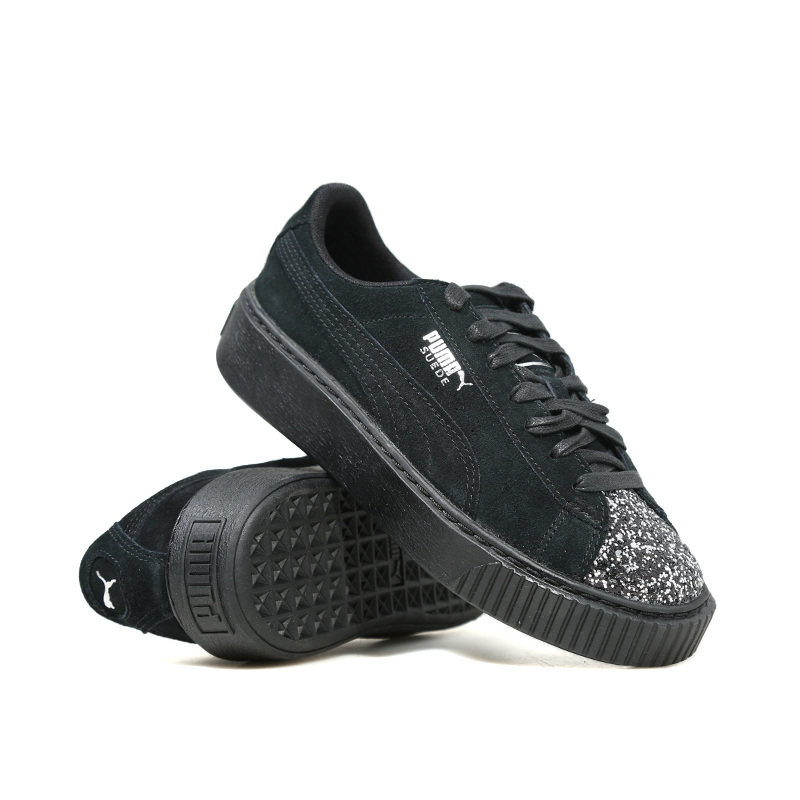 2018 PUMA Suede Platform Crushed Jewel Womens Sneakers Rihanna classic color tone simple Badminton Shoes Size 35.5-40