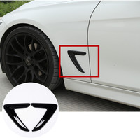 For BMW 3 Series F30 F35 ABS Side Wing Air Vent Outlet Cover Trim 2013 2015