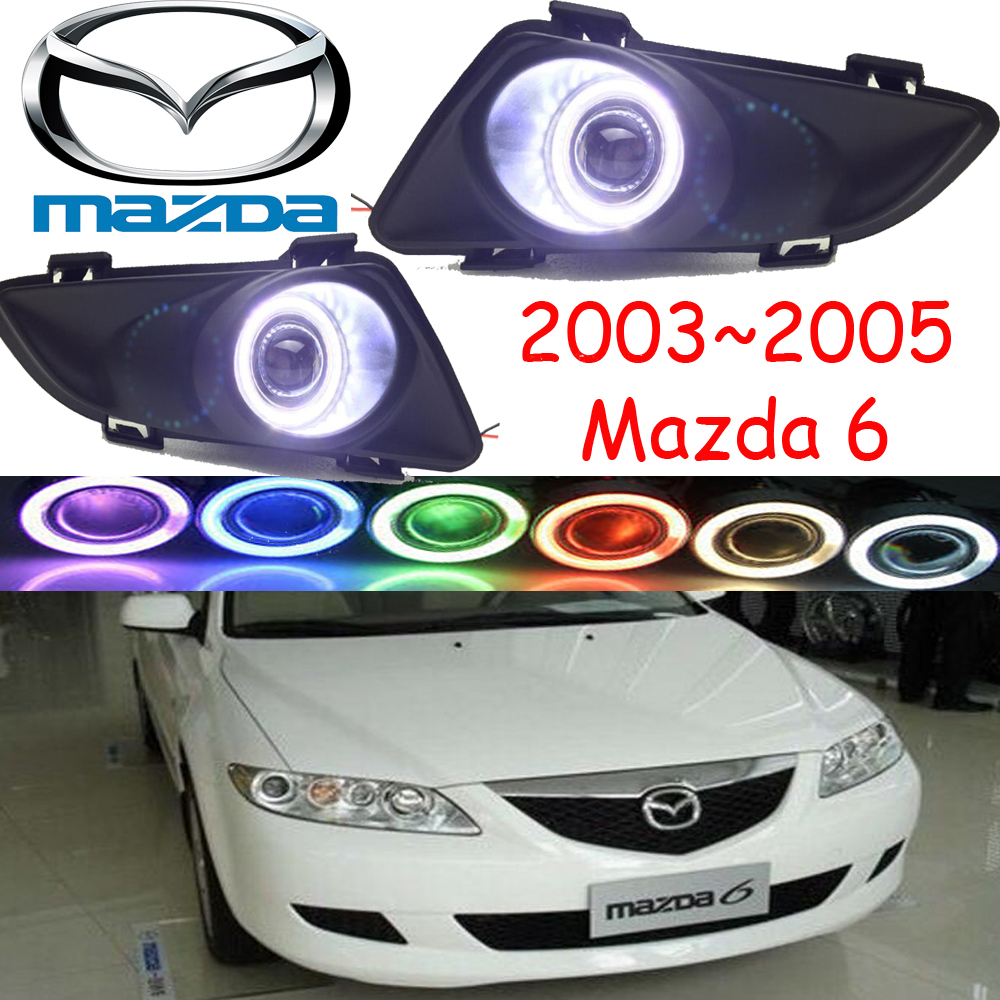 2003~2005 Mazd6 fog light,Free ship!halogen,Mazd 6 headlight,Tribute,RX  7,RX 8,Protege,MX 3,Miata,CX 3,CX 5,Mazd6 day lamp-in Car Light Assembly  from ...