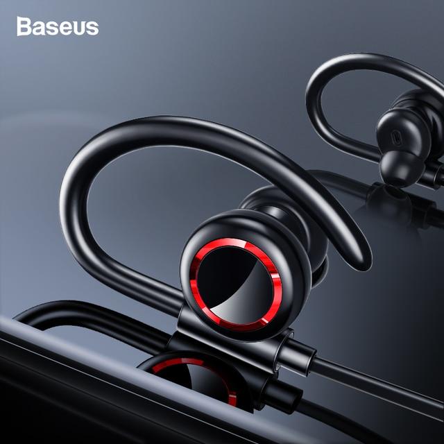 Baseus S17 Спортивные Беспроводные наушники Bluetooth 5,0 наушники для Xiaomi гарнитура наушники Fone De Ouvido