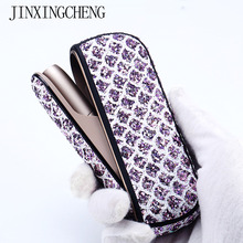 JINXINGCHENG 3 Colors Twinkly Bag Holder Side Cover+Full Case for iqos 3.0 Leather Pouch Case Accessories for iqos3 cover