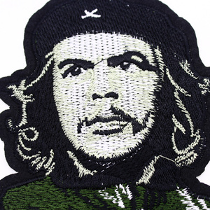 Vintage CLASSICAL ERNESTO Che Guevara Portrait Patch Cuban Revolution Leader Iron On Applique military Jacket Backpack patches(China)