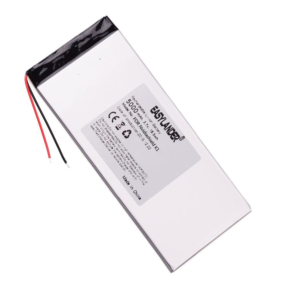 Easylander 3,7 V 3,8 v 5000mah для Nvidiashield K1 8 ''Tablet Battery 150*65*3,5 мм shield K1 пожалуйста, прочитайте описание