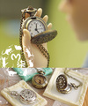 1/3 uncle BJD SD DD Doll accessories mini pocket watch photography tool
