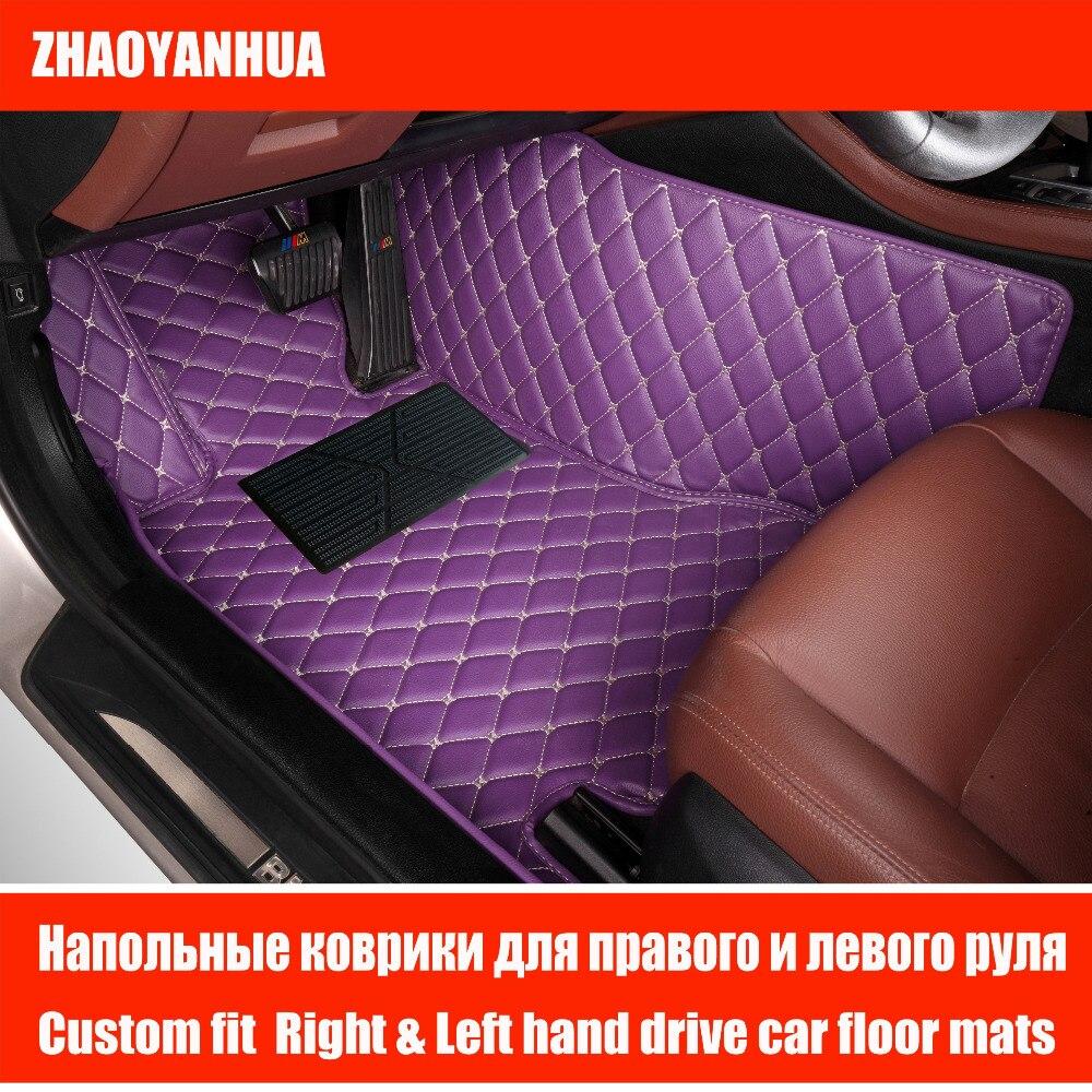 custom car floor mats case for toyota camry corolla rav4 mark x