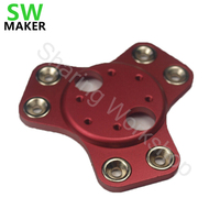 SWMAKER Reprap Delta kossel k800 metal magnetic dual effector For DIY 3D printer full metal 25 mm magnetic effector