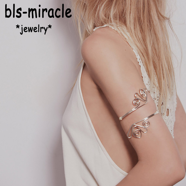 Bls-miracle Top New Fashion Jewelry Accessories Mix Color Punk Hollow Flowers Ar