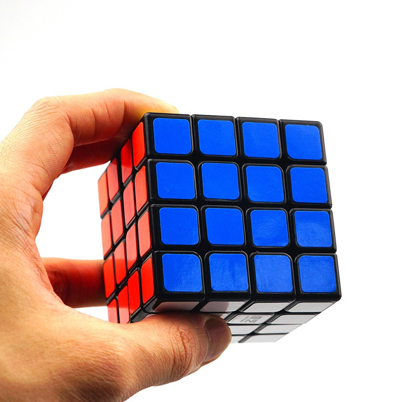 QiYi QiYuan S 4x4x4 Magic Cube Professional Competition Speed Cube Educational Puzzle Cube Toys for Children Beginner