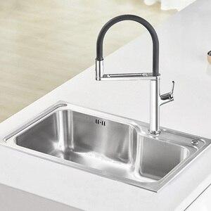 Image 2 - Youpin Dabai U Yue Küche Intelligente Sensor Schalter Wasserhahn 300 Rotierenden Arm Universal Rohr Wasser Küche Stensils