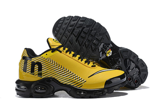new products c0e18 f24f4 NIKE Air Max Plus Tn Leather Outside Men Sport Badminton Shoes,Male Outdoor  Anti-Slip Sole Cushioning Sneakers Size Eur 40-45