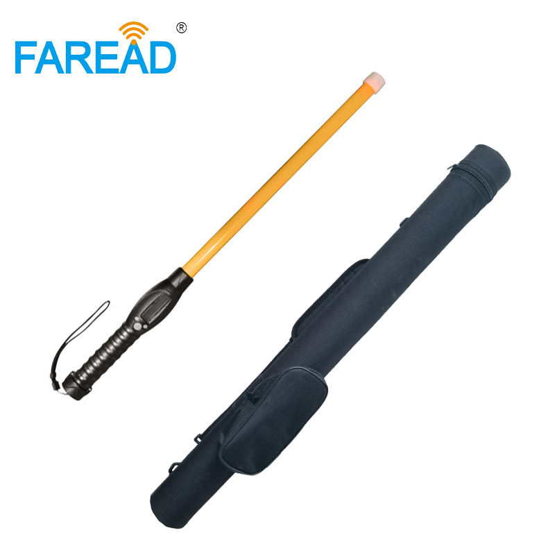 7000 ID Codes Long Antenna RFID Animal Ear Tags Stick Reader LF Handheld Bluetooth USB Portable Scanner Connect To Android Phone