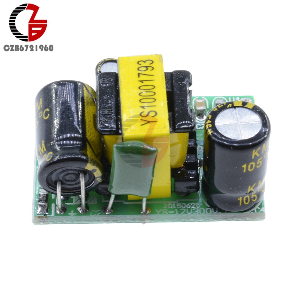 Ac Dc Step Down Voltage Regulator Module 90 240v To 9v Buck Capacitor In A Circuit There Is Battery Series With Converter Power Transformer Over Heat Short Protection Transformers From Home