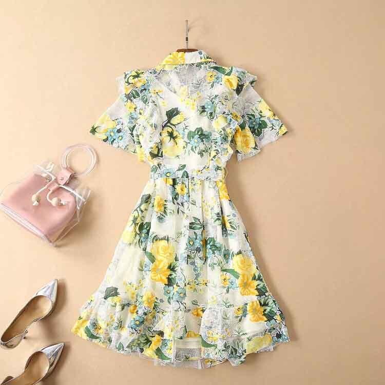 68eeb16e07661 HOT SALE] Mini Dress Hollow Out High Quality 2019 Summer New Women'S ...