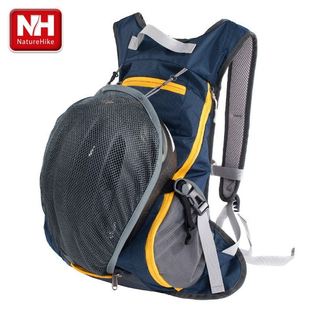 aea44242c New NatureHike 15L Waterproof Backpack ultralight Rucksack Cycling Bike  Camping Climbing Hiking travel bag with Helmet net cover
