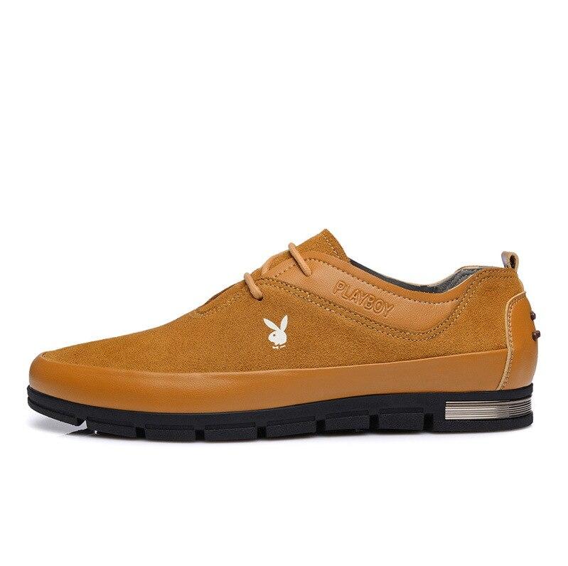 Casuales Nueva Zapatos Moda Del Azul Cx37026 Diarios Los Ayuda Playboy Cuero Ocio Baja De Auténtico Hombres marrón 6rwxf6Aq
