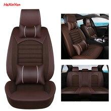 HeXinYan Universal Car Seat Covers for Luxgen all models Luxgen 5 7SUV 6SUV U5 SUV 5 seats auto accessories car styling задний стеклоочиститель для luxgen 7 suv