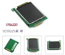 Tela colorida de 2.0 polegadas spi tft lcd com placa do pwb ili9225 drive ic 176*220