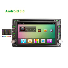 New 2din Universal 6.2″ Android Car DVD multimedia player with GPS Navi 1024*600 Bluetooth rear view camera RDS DAB+ OBD2 DVR