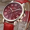 IBSO Brand High Quality Luxury Red Women Watches 2017 Week And Calendar Fashion Watch Women Genuine