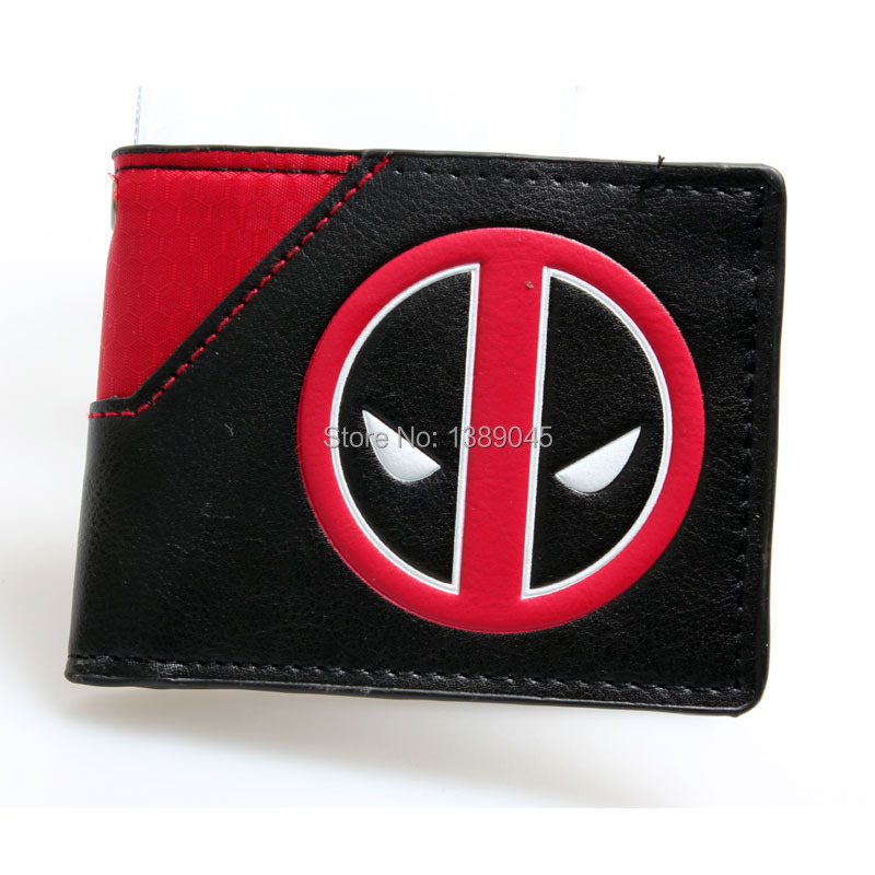 Deadpool wallet animated cartoon fashion brand purse Young boys and girls purse personality Man purse DFT-1195 все цены