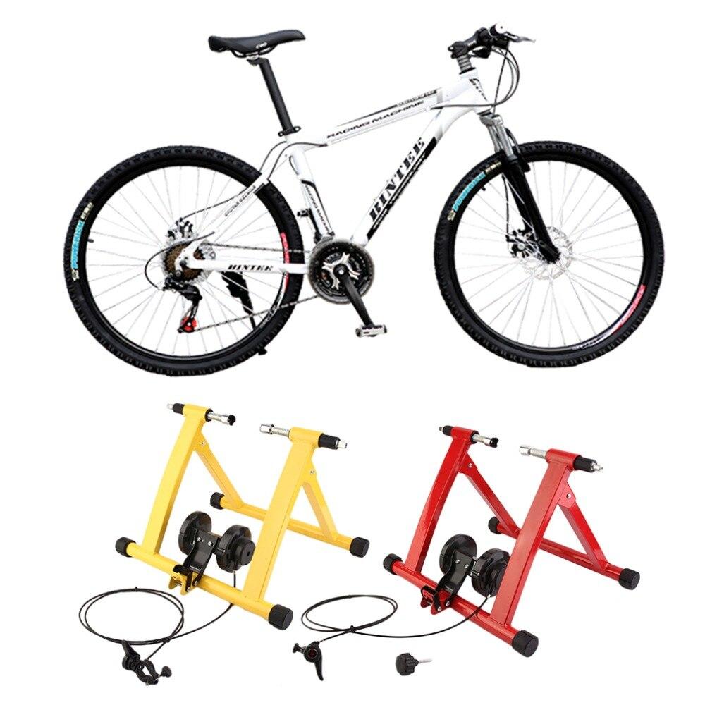 2018 Profesional Vélo Vtt Intérieure Formation Station Route Vélo Parking Station Vélo Intérieur Exercice Formateur Stand