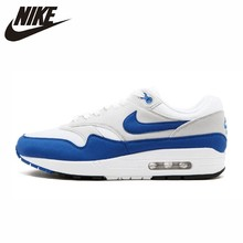 NIKE Air Max 1 Original Mens Running Shoes Mesh Breathable Comfortable Lightwight Outdoor Sports Sneakers #908375